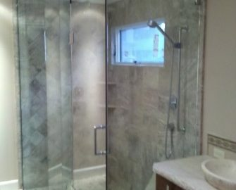 Frameless Glass Shower Enclosure 3